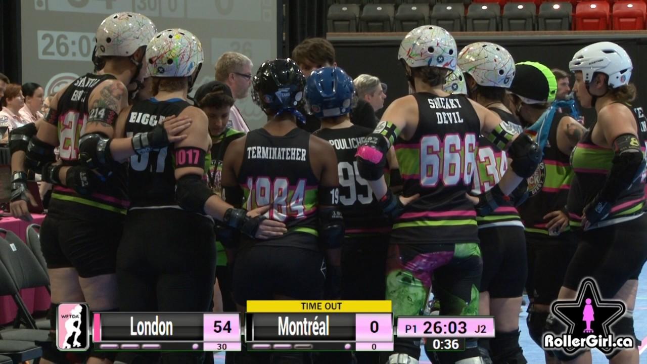 Roller skating montreal - Game 11 London Rollergirls V Montr Al Roller Derby