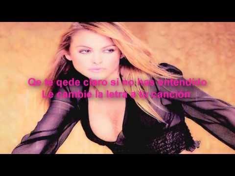"""Jenny Rivera ft Paulina Rubio Ni Rosas Ni juguetes """"letra"""" (HD)"""