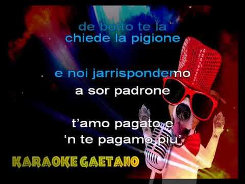 Canzoni Romane La Societa' Dei Magnaccioni karaoke