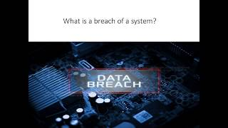 South Dakota's New Data Breach Reporting Law Webinar 2018 June 28