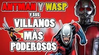 ANT MAN Y WASP Y SUS VILLANOS MÁS PODEROSOS || YOUGAMBIT