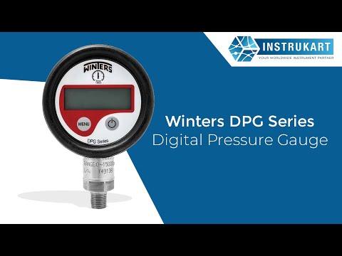 Winters DPG Series Digital Pressure Gauge