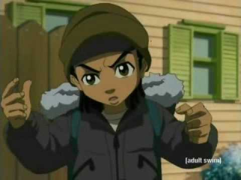 Kiss Me Thru The Phone | Soulja Boy Tellem Ft. Sammie (Boondocks AMV)