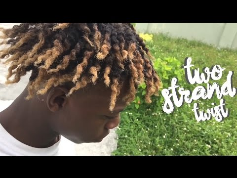 4c Natural Hair Two Strand Twist Amp Twistout Tutorial
