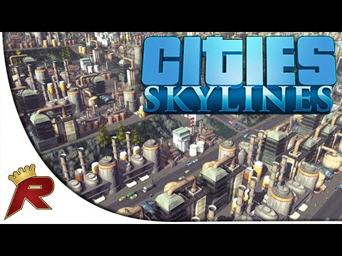 "Cities: Skylines - Part 1: ""Roads, Power, Waste and Water"" (w/ Giveaway)"