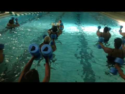 Joanna aerobics At GLEC
