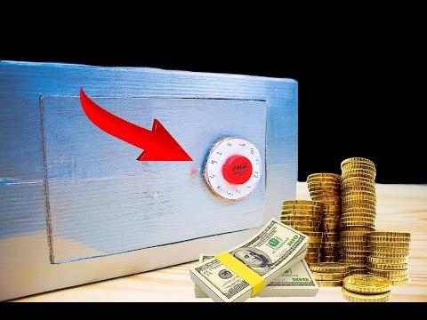 How To Make A Piggy Bank Safe - Easy DIY Money Box Tutorial