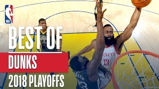 best dunks of the 2018 nba playoffs