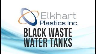 """31 Gallon Waste Water Tank 27 1/2"""" x 26"""" x 17"""" 1/2"""" 4852 Elkhart Plastics"""