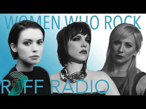 Lzzy Hale, Jen Ledger and Meg Myers are women who rock