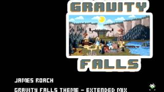 Repeat youtube video Gravity Falls Theme (Extended 8-bit mix)