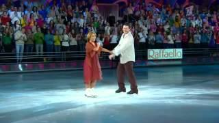 Анита Цой и Алексей Тихонов в полуфинале шоу Ледниковый период 2013