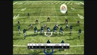 Madden 10 Mike Vick Run Draw Pass Glitch