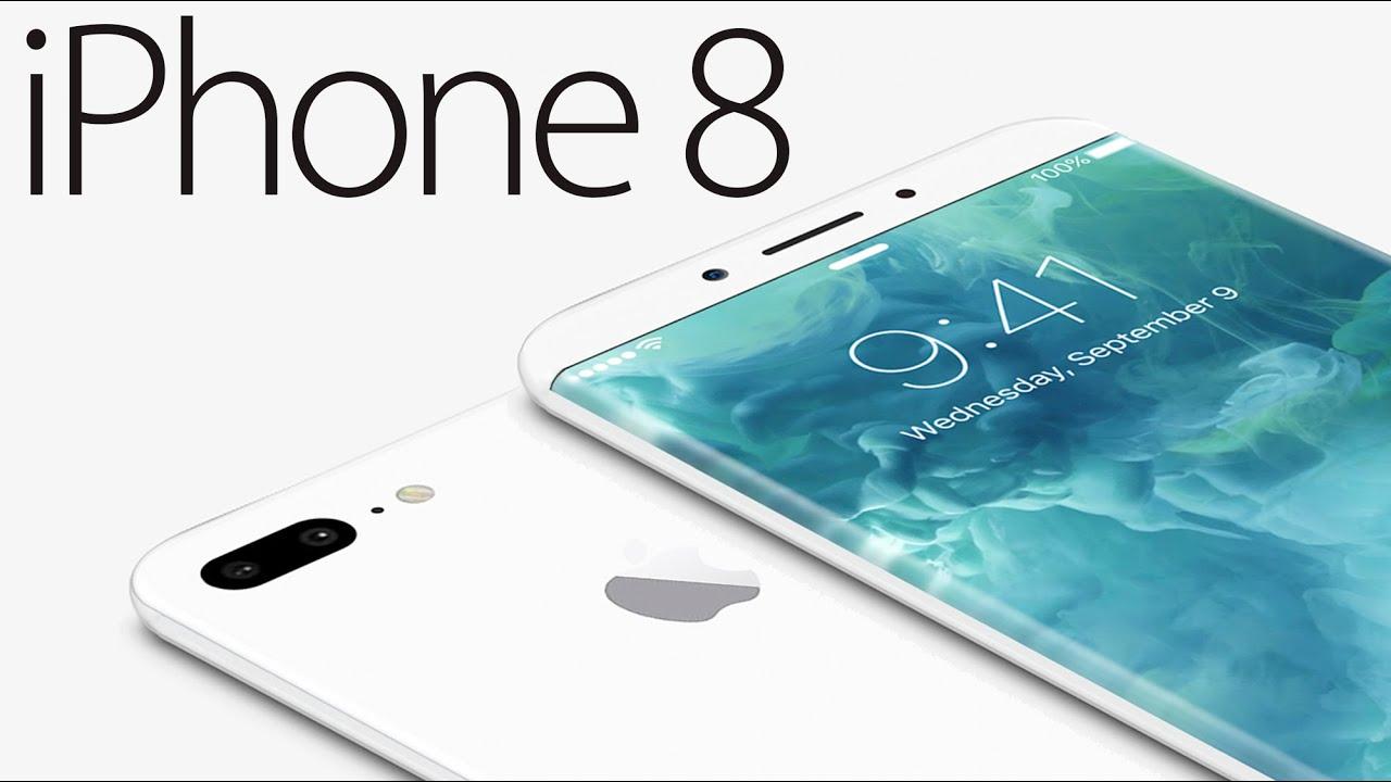 Концепт телефона iPhone 8