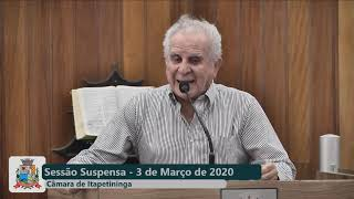 5ª Sessão Ordinária 2020