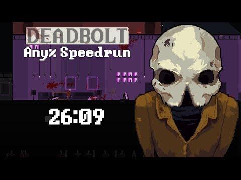 DEADBOLT Any% Speedrun - 26:09 [World Record]
