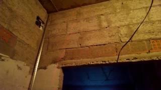 Быстрое сканирование стены при помощи лазерного нивелира