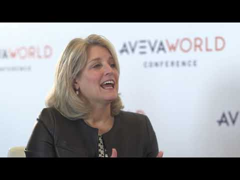 Lisa Bodell Founder and CEO of FutureThink at our Aveva World ...