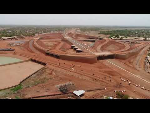 Construction in Ouagadougou (Échangeur du Nord Ouagadougou) Part 2 (7 MONTHS LATER)