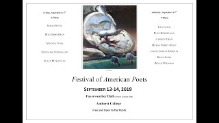 PIONEER VALLEY POETRY FESTIVAL 2019 DAY TWO