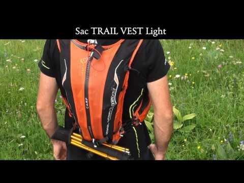 Рюкзак для рогейна и скайраннига CAMP TRAIL VEST LIGHT