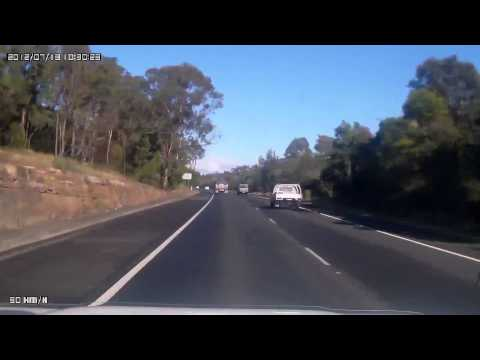 1 - Hume Highway - Sydney to Mackay VC Rest stop near Mittagong