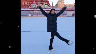 Алина Загитова на Красной Площади 02 02 2021г Короткое видео из инстаграмма Романа Будникова