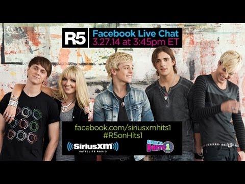 #R5onHits1 - R5 Live Chat on SiriusXM Hits 1