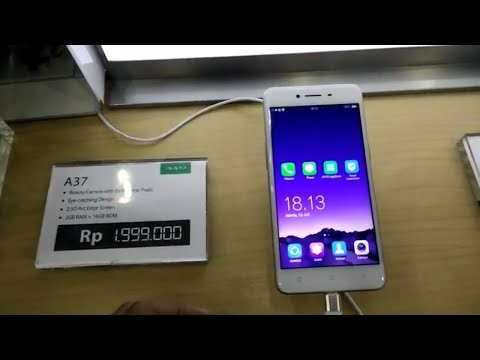 Oppo A37 - (AB UNBOXING)