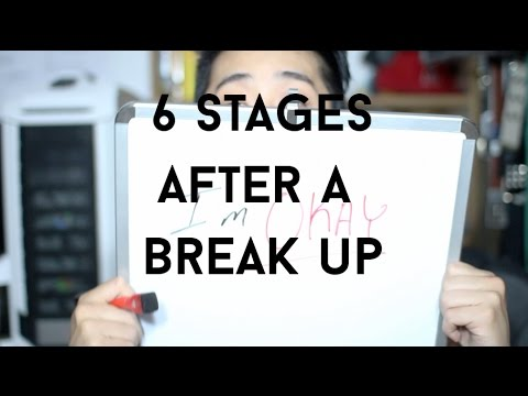Stages Men Go Through After A Break Up