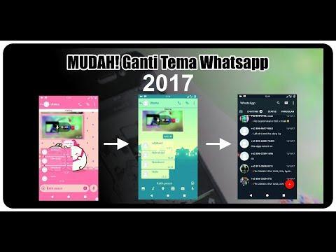 Baru! Cara Ganti Tema Whatsapp Tanpa Aplikasi Tambahan