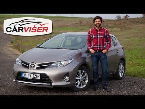 Toyota Auris Test Sürüşü