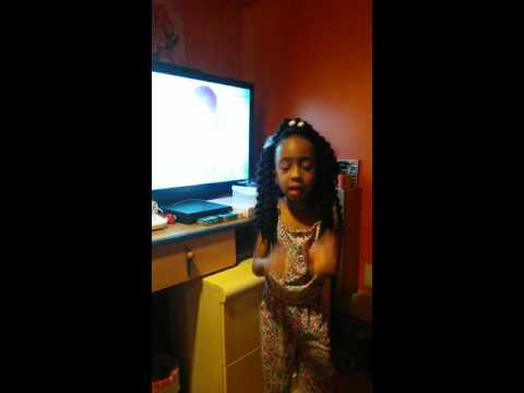 Armani hollimon singing her aunt drezzy song body
