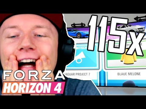 115 WHEELSPINS!! | Ihr GLAUBT nicht, was passiert...  | Forza Horizon 4 thumbnail