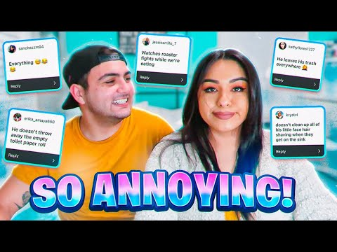 THE MOST ANNOYING THINGS YOUR SIGNIFICANT OTHER DOES!