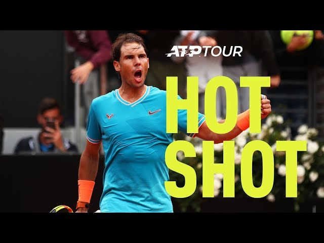 Hot Shot: Nadal Crushes Djokovic's Break Point Hopes In Rome 2019 Final