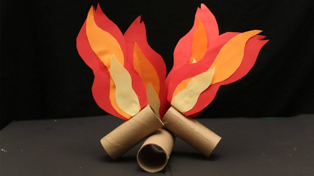 Camping Arts And Crafts Projects Fire