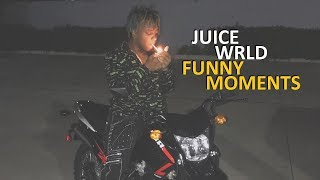 Juice WRLD FUNNY MOMENTS (BEST COMPILATION)