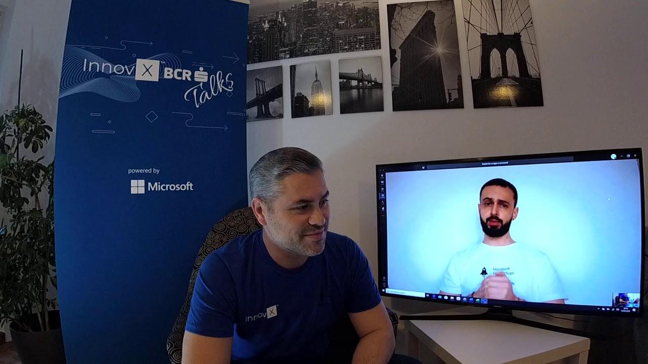 InnovX - BCR Talks powered by Microsoft