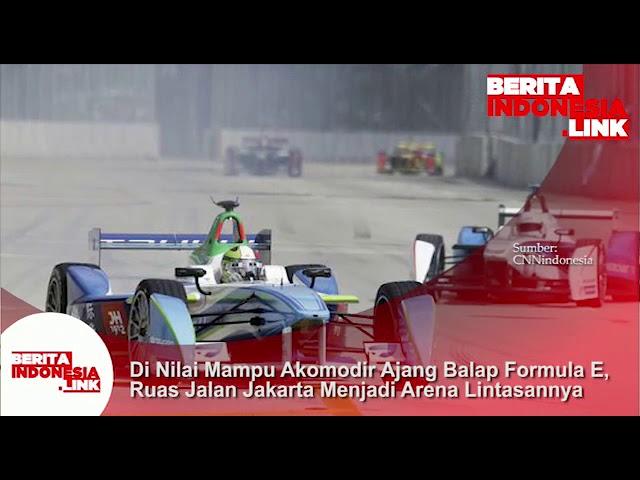 Jalan di Jakarta dinilai bisa menjadi arena lintasan balap Formula E