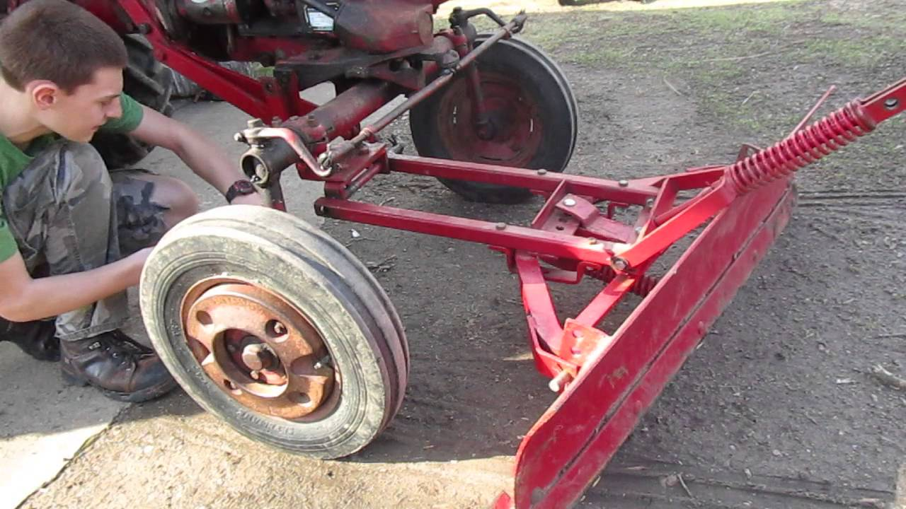 Farmall Cub Plowing Snow International Wiring Diagrams Furthermore Tractor Plow Parts Moreover Ford Disc Harrow Also 281801584896 In Addition Cadet 1450 Troy Bilt