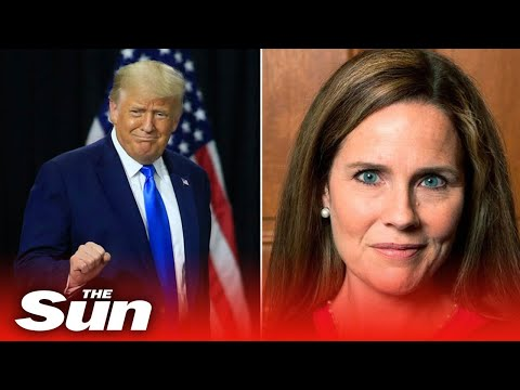 Donald Trump officially nominates Amy Coney Barrett to replace Ruth Bader Ginsburg on Supreme Court