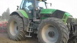 DEUTZ FAHR Agrotron X720 e coltivatore DANTE 6mt.