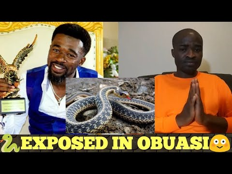 THE GIANT SERPENT (S-naked) in OBUASI EXPOSED⚓😳(Wake Up Ghana) - Evangelist Addai