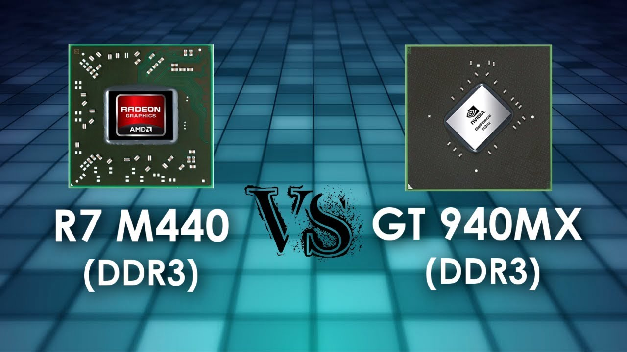 R7 M440 2GB vs GT 940MX 2GB in 5 Games