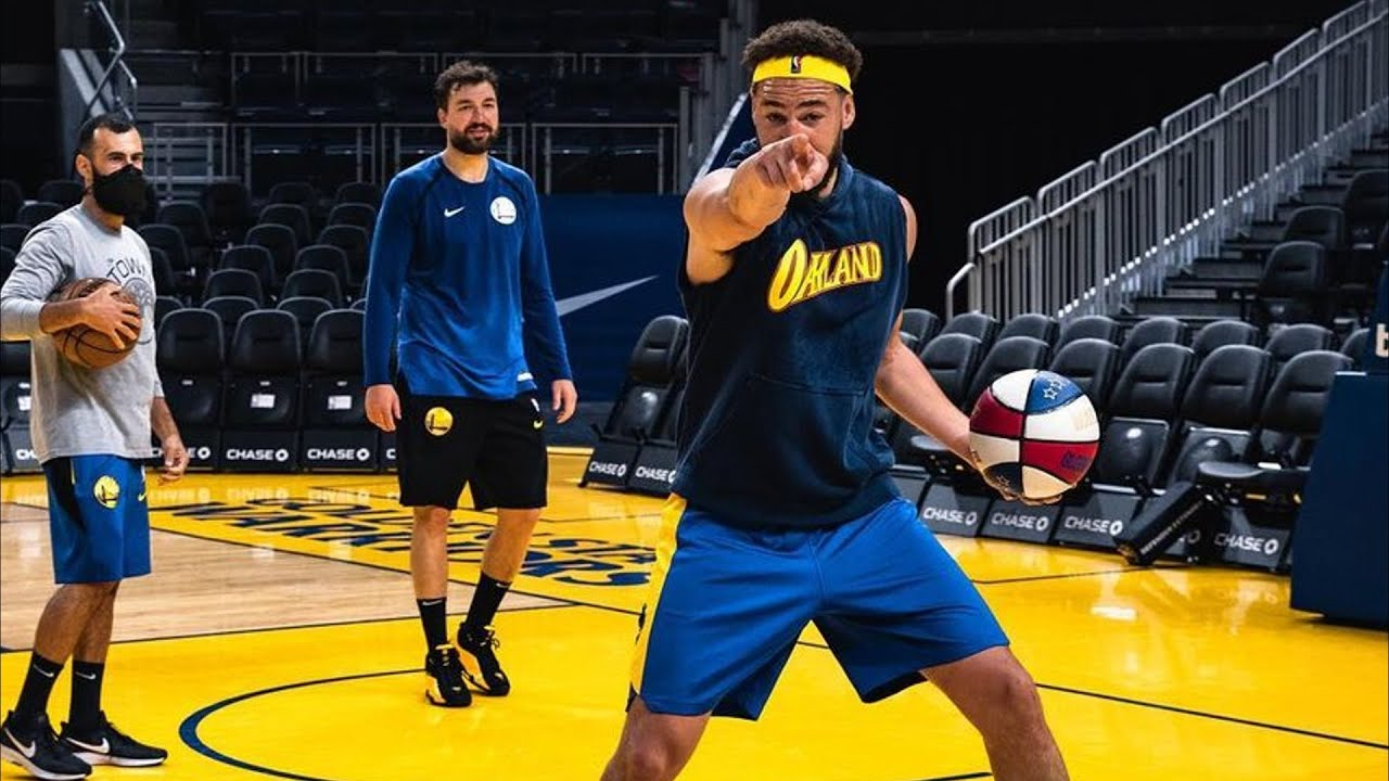 Klay Thompson Recovery Comeback Photos! 2021 NBA Playoffs