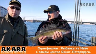 Стритфишинг. Рыбалка  на Неве в самом центре Санкт-Петербурга.