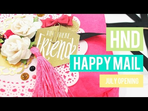 HND HAPPY MAIL - JULY MAIL