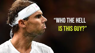 "The ""Unknown"" Player Who Completely SHOCKED Rafael Nadal (Nadal´s Cryptonite?)"