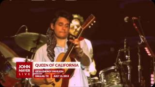 Video John Mayer - Queen of California - 07/13/13 - GEXA Energy Pavilion download MP3, 3GP, MP4, WEBM, AVI, FLV Agustus 2018